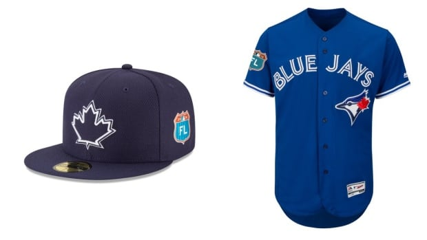 Blue Jays fans don't understand why the hat doesn't match the jersey.