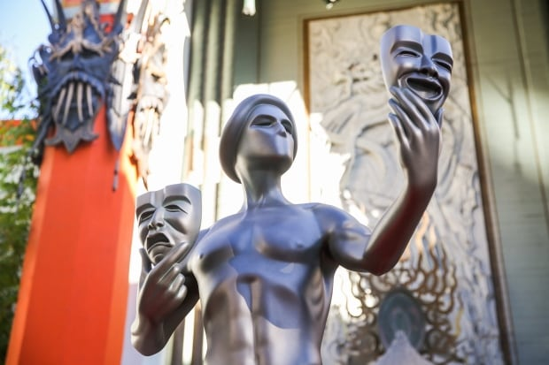 22nd Annual SAG Awards - Actor Statue Photo Call