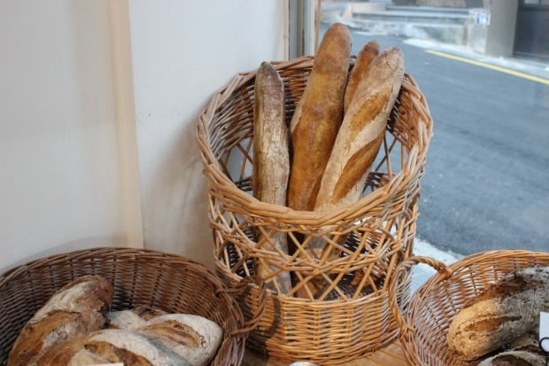 French baguettes in Seoul