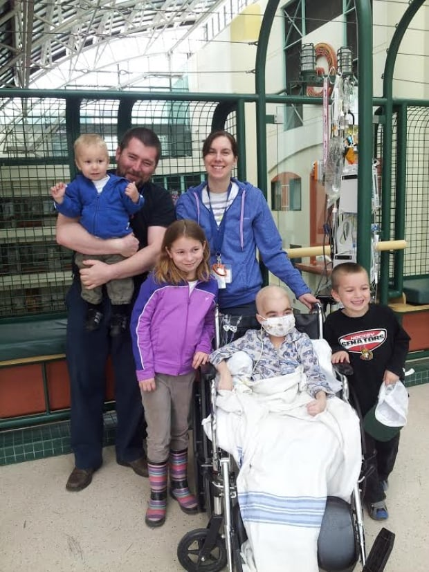 Kael and family out of isolation