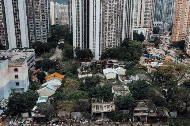 WIP Nga Tsin Wai village in Hong Kong Jan 26 2016