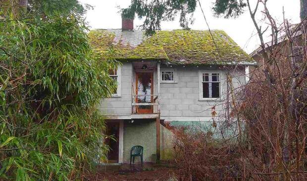 Backyard of $2.4M Vancouver home