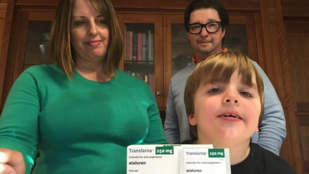 Jennifer Klazek and Ken Wilson have launched a crowdfunding campaign to help pay for a very expensive new drug for their 7-year-old son, Eli Wilson.