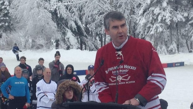 Nova Scotia Premier Stephen McNeil announced Saturday up to $3 million to build a hockey heritage centre in Windsor, N.S.