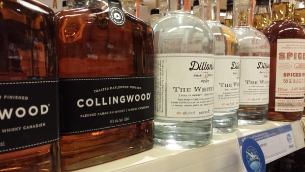 Collingwood and Dillon's are two of the emerging craft distillers in Ontario.