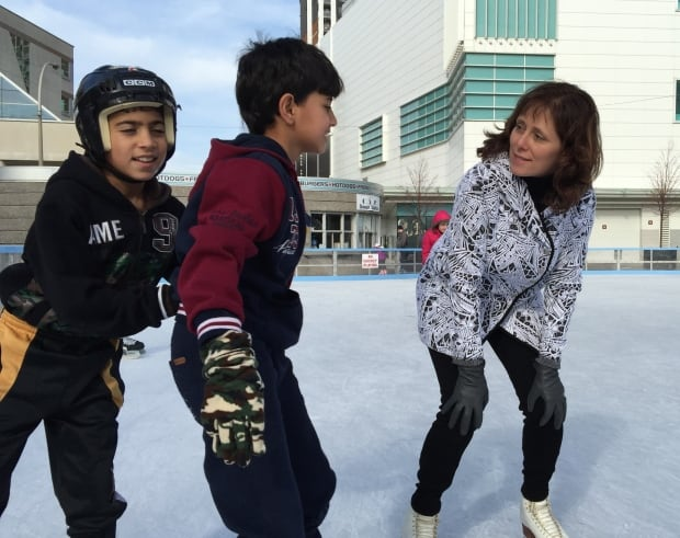 Syrian Skating in Windsor