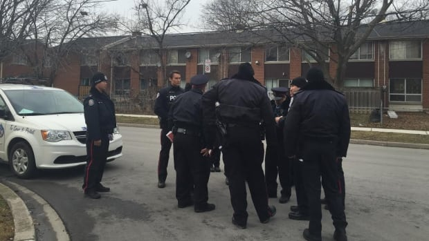 Police spent several hours going door-to-door canvassing Saturday. They were speaking with residents about a recent spike in violence in the Lawrence Heights area.