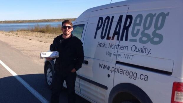 Polar Egg manager Kevin Wallington says his company hopes boost the number of eggs it's donating to breakfast programs at Yellowknife schools.