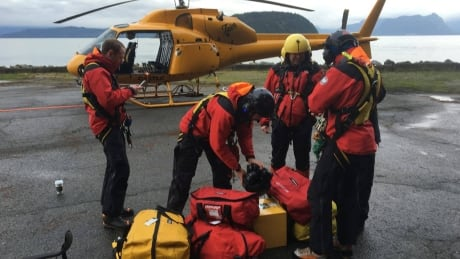 North Shore Rescue searching for missing hiker near Mount Strachan