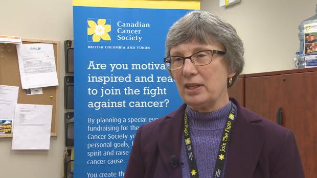 Volunteer Beverly Dixon said the community really stepped up when the Canadian Cancer Society was robbed in Mission, B.C.