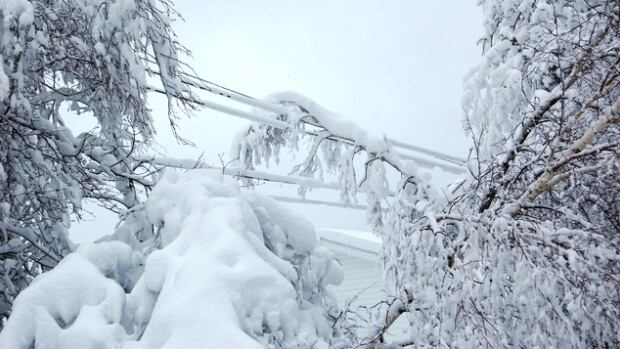 Nova Scotia Power says heavy snow is creating challenges as crews work to restore electricity to communities.