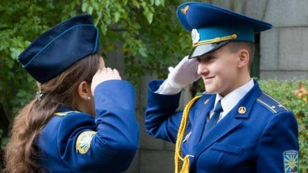 Nadiya Savchenko Graduation Ukraine Air Force University
