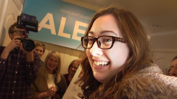 Alex van der Valk helped plan the surprise reveal, only she didn't know she was the winner.