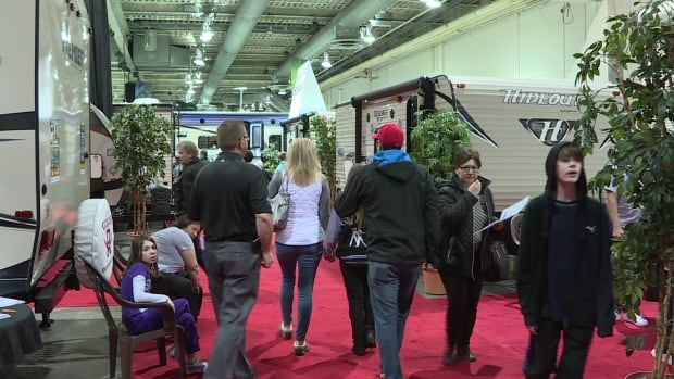 Calgary RV expo is seeing a jump in attendance this year.