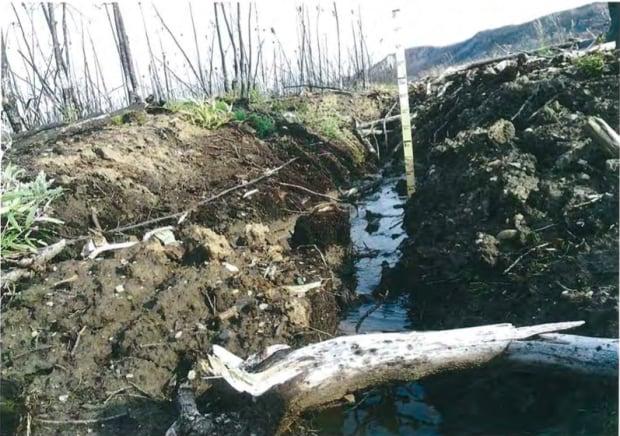 Mackenzie valley fibre line erosion