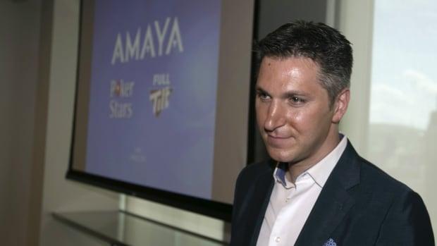 David Baazov, president and chief executive officer of gaming company Amaya Inc.