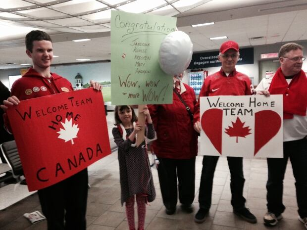 Nova Scotia curling champions welcome home