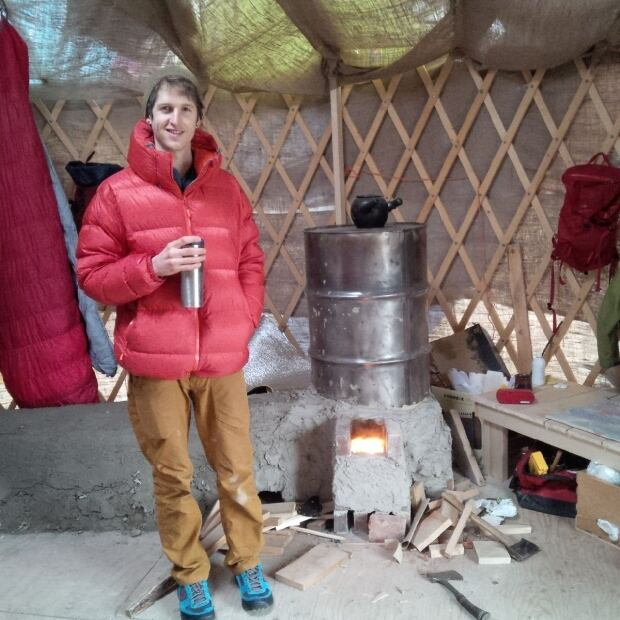 Michael Jeffery yurt stove