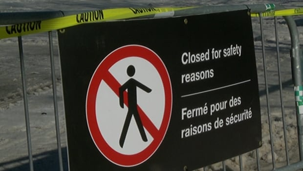 The Rideau Canal Skateway is closed.