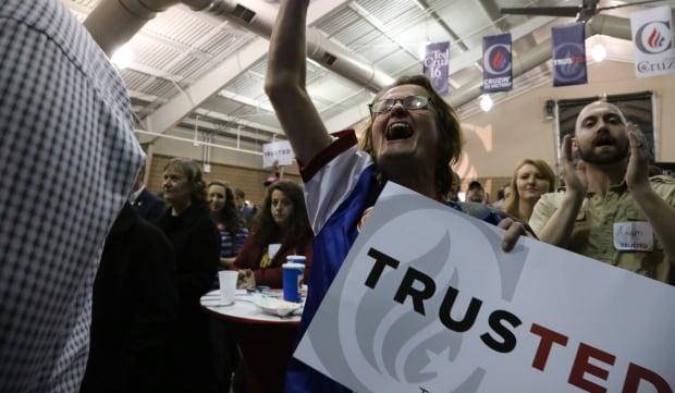 Ted Cruz supporter Debbie Levey