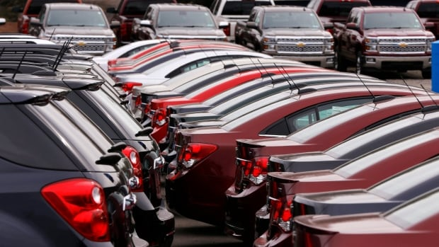 Canadian sales last month totalled 108,553 vehicles, just shy of the January record of 110,266 vehicles sold in 2002, according to figures compiled by DesRosiers and Associates.