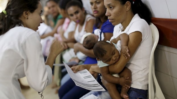 Mothers with their children, who have microcephaly, await medical care at the Hospital Oswaldo Cruz, in Recife, Brazil, January 26, 2016. Health authorities in the Brazilian state at the center of a rapidly spreading Zika outbreak have been overwhelmed by the alarming surge in cases of babies born with microcephaly, a neurological disorder associated to the mosquito-borne virus.