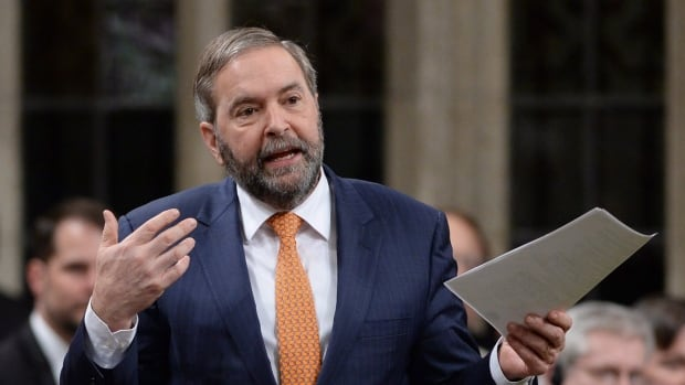 NDP Leader Tom Mulcair says Trudeau should apologize to the Congress of Aboriginal Peoples and the Native Women's Association of Canada for not inviting them to the national talks on climate change that start Wednesday in Vancouver.