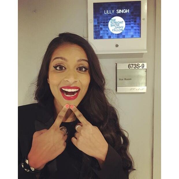 Superwoman Lilly Singh