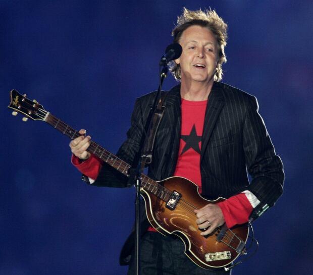 Paul McCartney NFL Super Bowl halftime show