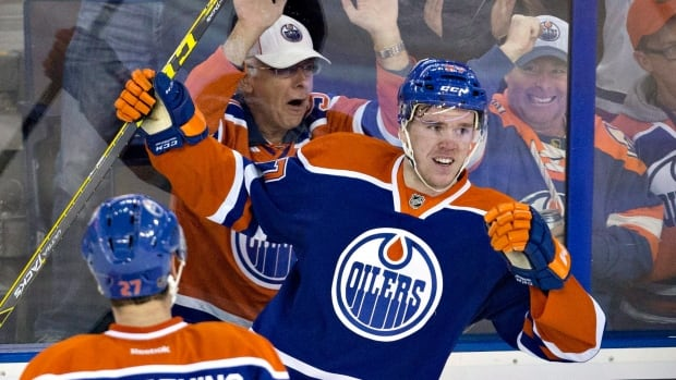 Connor McDavid is back and so are smiles on the faces of the Edmonton Oilers. The rookie scored a sensational goal and added two assists in a 5-1 victory over the Columbus Blue Jackets.