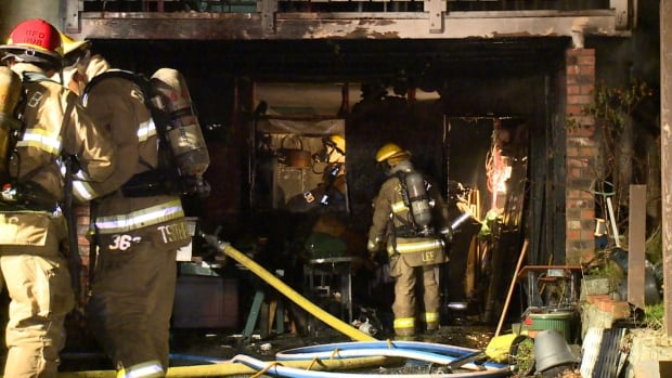 Burnaby house fire