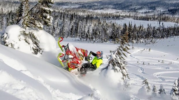 Troy Burt, from Summerford, is one of the top two finalists in an online competition for North America's top snowmobiler, hosted by SuperTrax Magazine.
