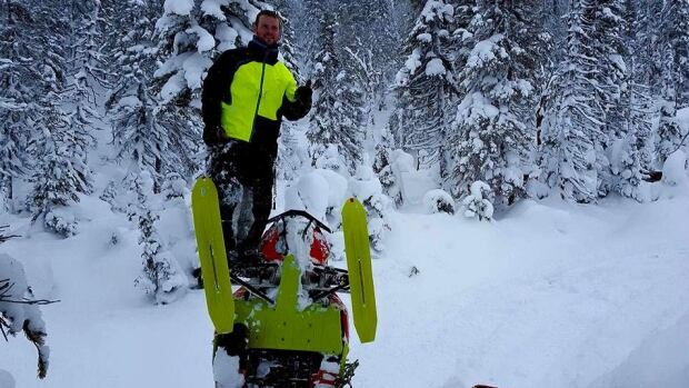 Troy Burt has been voted as the continent's top snowmobiler in an online contest, nearly 8 years after he lost his left leg in an accident.