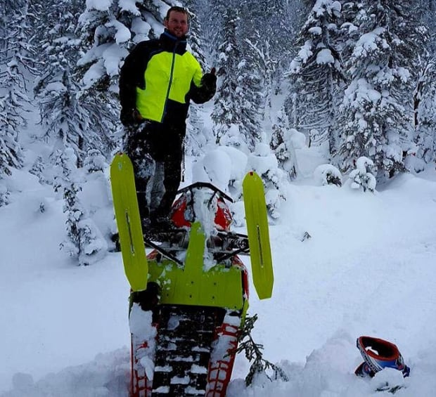 Troy Burt top snowmobiler supertrax