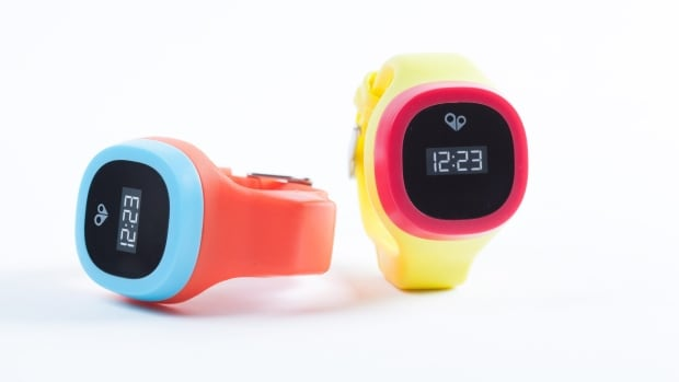 This photo provided by HereO shows the HereO GPS watch. Your smartphone or tablet is most likely pretty secure, and unlikely to be hacked, but the same can't be said for any internet connected toys you may have purchased for your kids.