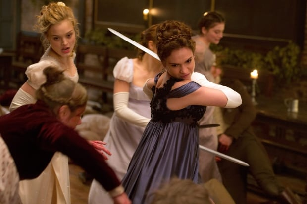 Film Review Pride and Prejudice and Zombies