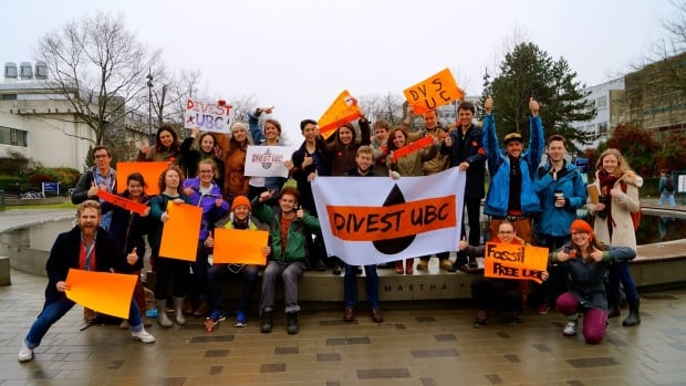 UBCC350 is a group of students, staff and faculty advocating against climate change and for divesting UBC's endowment fund of fossil fuel holdings.