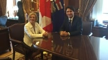 Notley and Trudeau