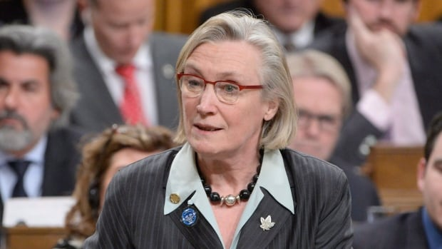 Minister of Indigenous and Northern Affairs Carolyn Bennett answers a question during Question Period in the House of Commons on Parliament Hill in Ottawa, on Wedneday, Feb.3, 2016. Bennett promised to look into the cases of about 1,000 residential school students disqualified for compensation after coming under fire from NDP MP Charlie Angus.