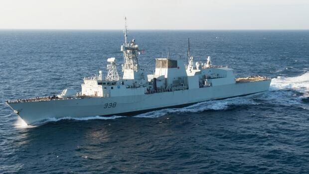HMCS Winnipeg is based out of Esquimalt, B.C.
