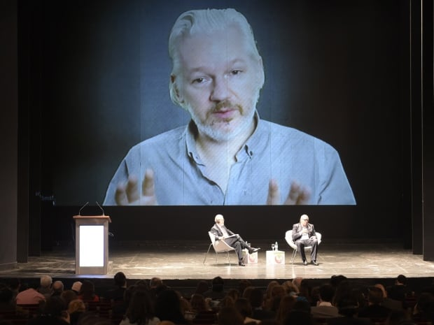 Assange video