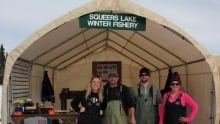 Squeers Lake Winter Fishery