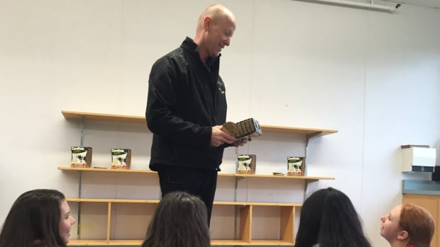 Graham Harkley will be teaching grade 10-12 students about farming.