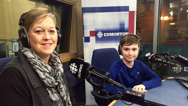 Kathy Bell and her Zachary Bell, who suffers from Restrictive Food Intake Disorder, shared their story on CBC Radio's Edmonton AM.