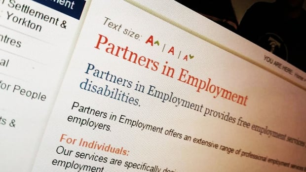 Partners in Employment helps people with disabilities find jobs.