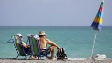 canadian dollar travel beach