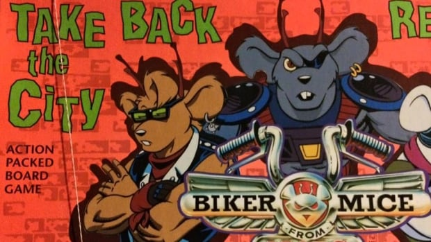 The Biker Mice from Mars board game.