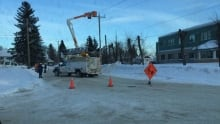Power outage in Kapuskasing, Ont.