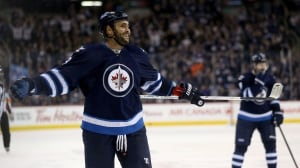 Dustin Byfuglien signs 5-year contract extension with Jets