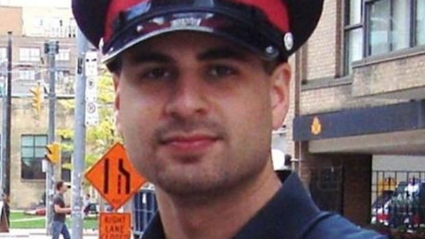 Toronto police officer Darius Garda was on leave from his job at 51 Division when his body was pulled from Lake Ontario.